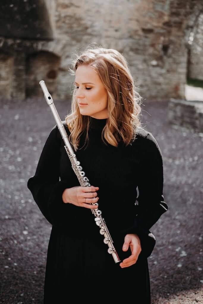 Flöödimängija Liina Fidelman