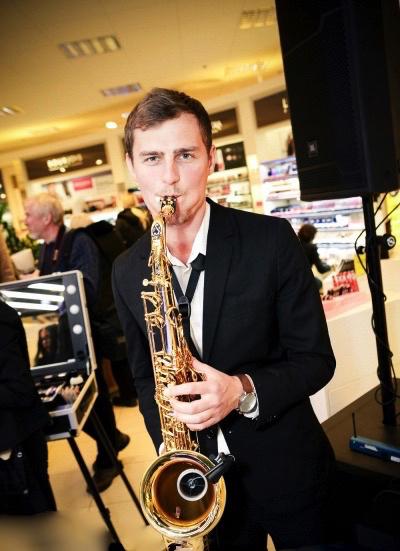 Saksofonist Martin Kuusk