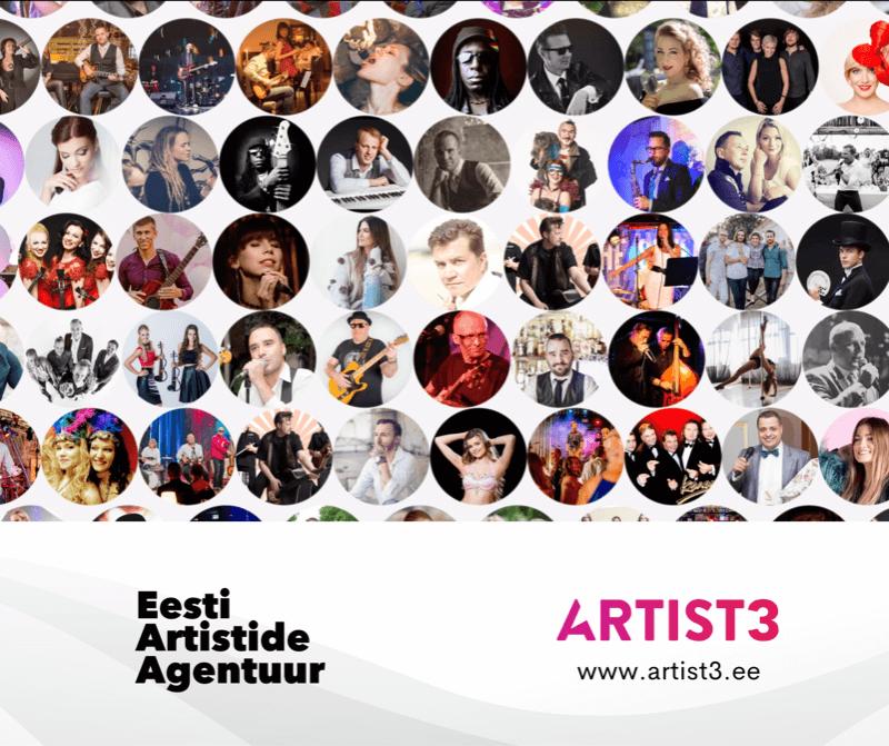 Eesti Artistide Agentuur omandas artist3.ee domeeni