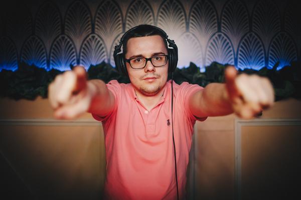 DJ ja õhtujuht Mark Kitajev