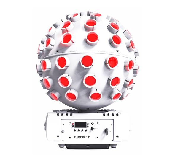Chauvet DJ Rotosphere Q3, valge, rent